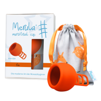 Merula Menstrual Cup fox (orange) - ONE SIZE