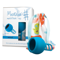 Merula Menstrual Cup mermaid (blau) - ONE SIZE