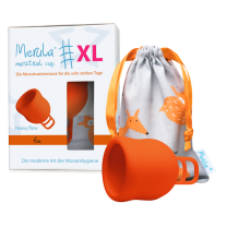 Merula Menstrual Cup fox (orange) - XL